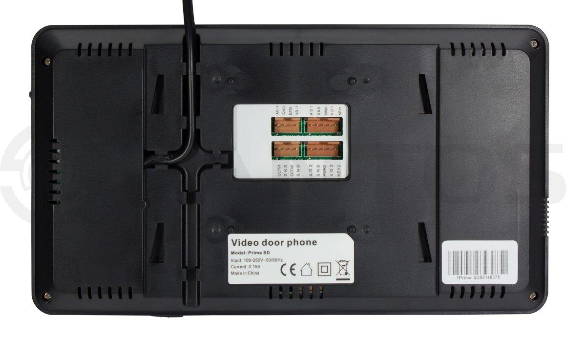 домофон визит схема подключения цвет проводов